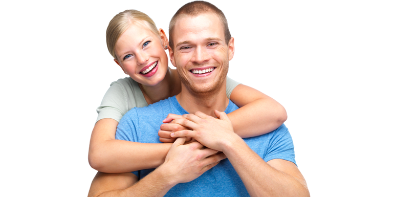 Couple in Healthy Relationship