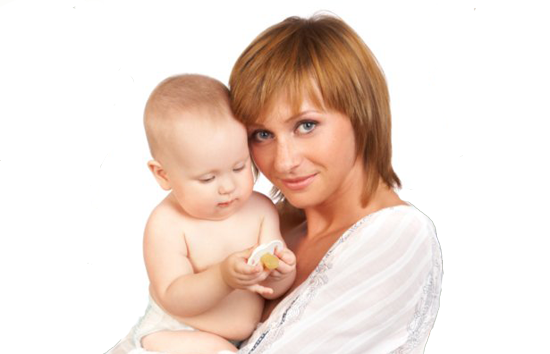 Postpartum Depression - a mother and child