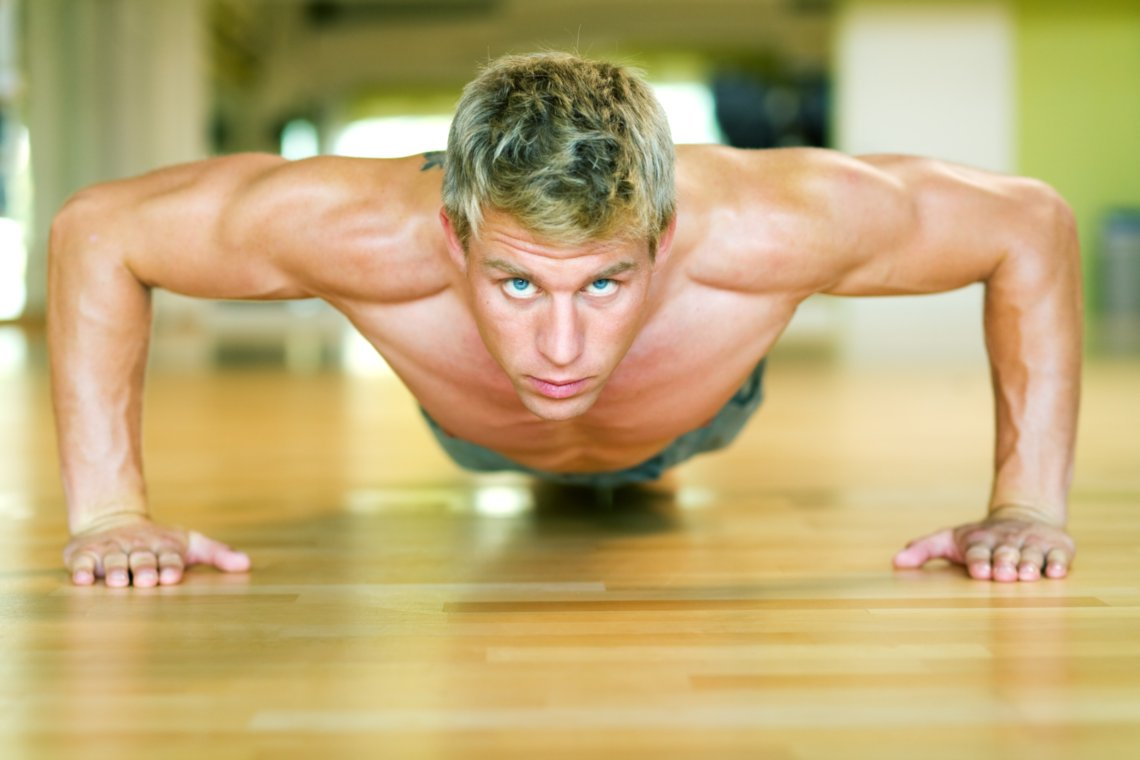 Perfectionism - athlete working out