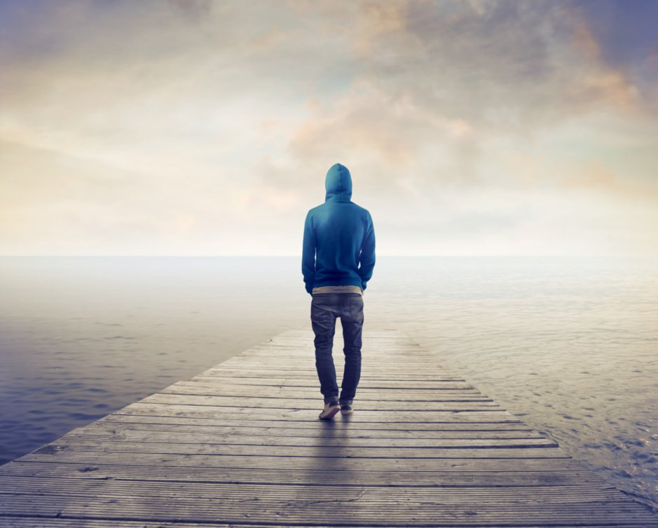 Lonely Man due to Family Estrangement